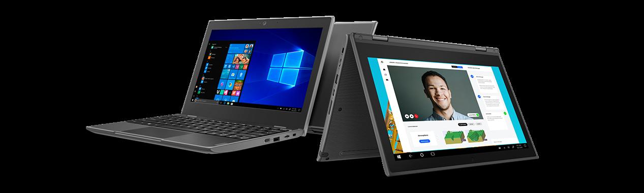 Modelos de notebook 100E e 300E